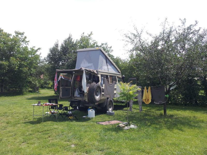 Camping in der Nähe von Sibiu