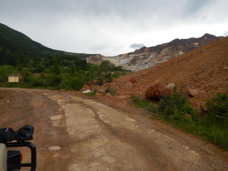 mitten im Nationalpark Bergbau, Schwefel wurde hier bis 1988 abgebaut