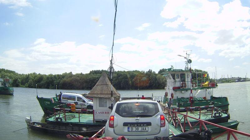 wieder zurück über die Donau
