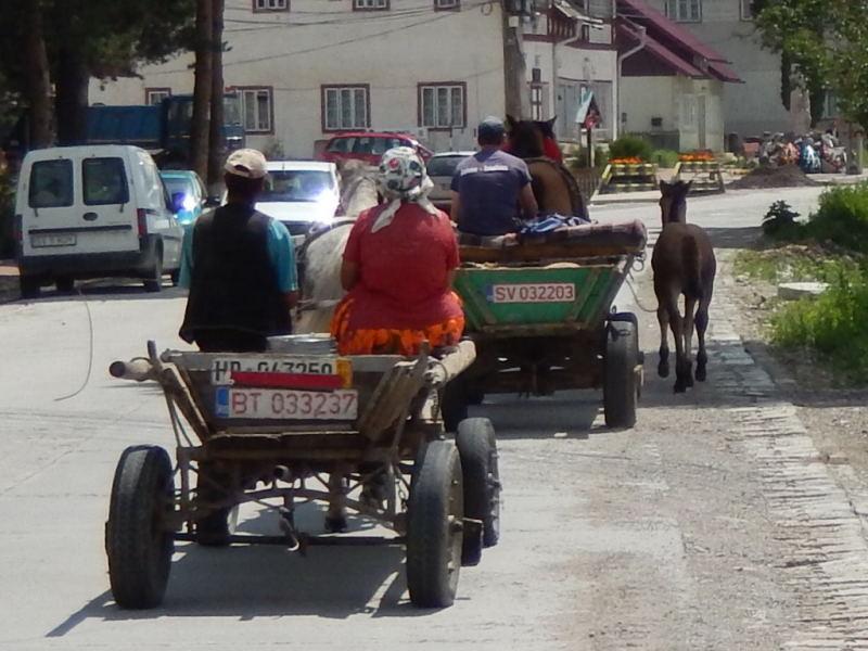 im ganz normalen Straßenverkehr