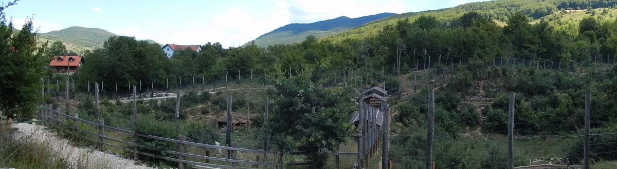 Bärenauffangstation in Kuterevo