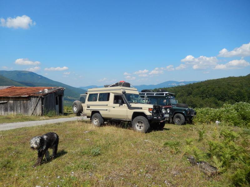 erster Rastplatz in Bosnien