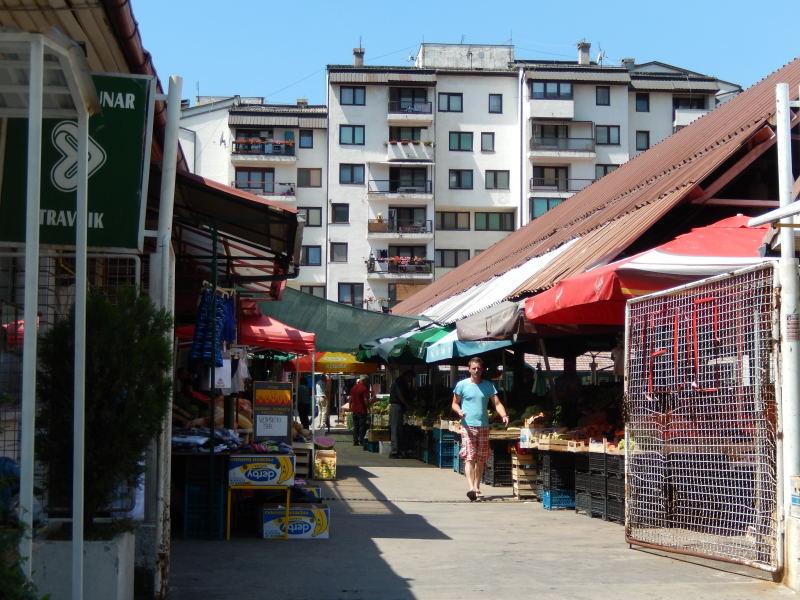 Markt in Travnik