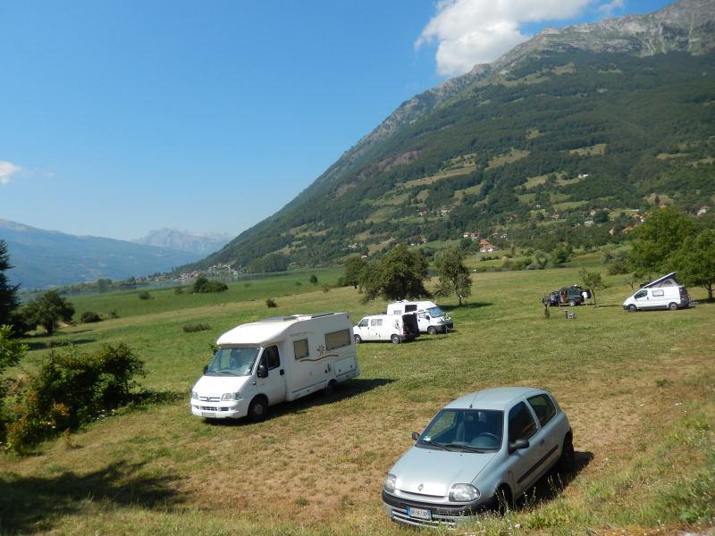 Campingplatz in Montenegro