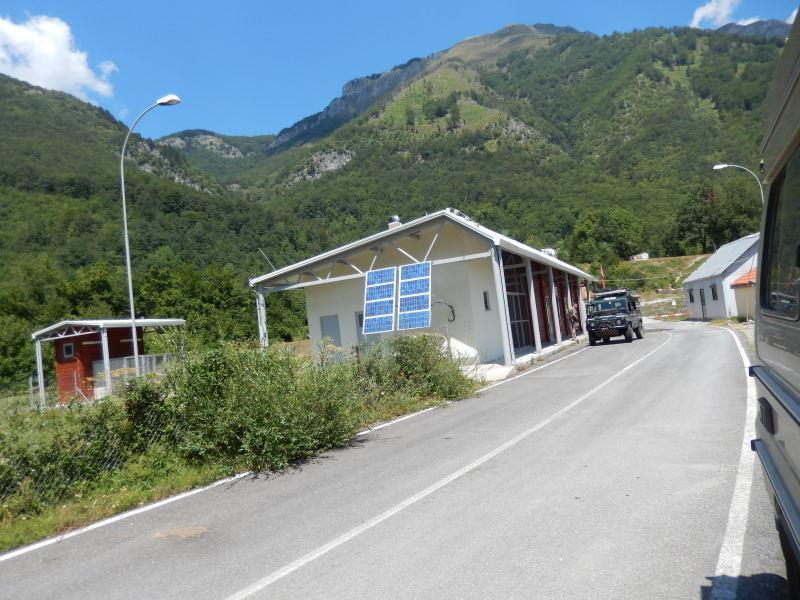 an der Grenze nach Albanien