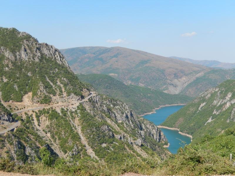 Fahrt ins Valbona Tal