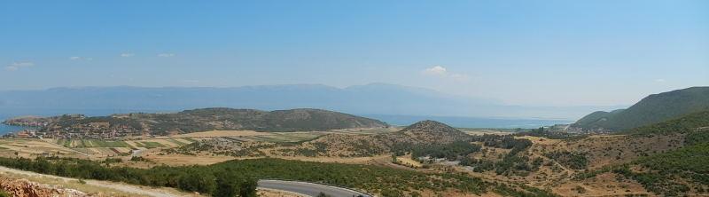 auf dem Weg zum Ohridsee