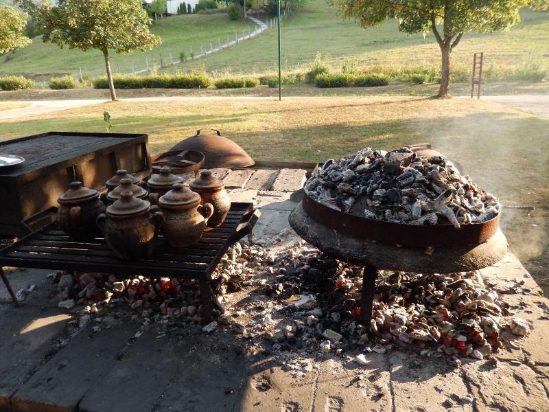 bosnisches  Campingplatzrestaurant