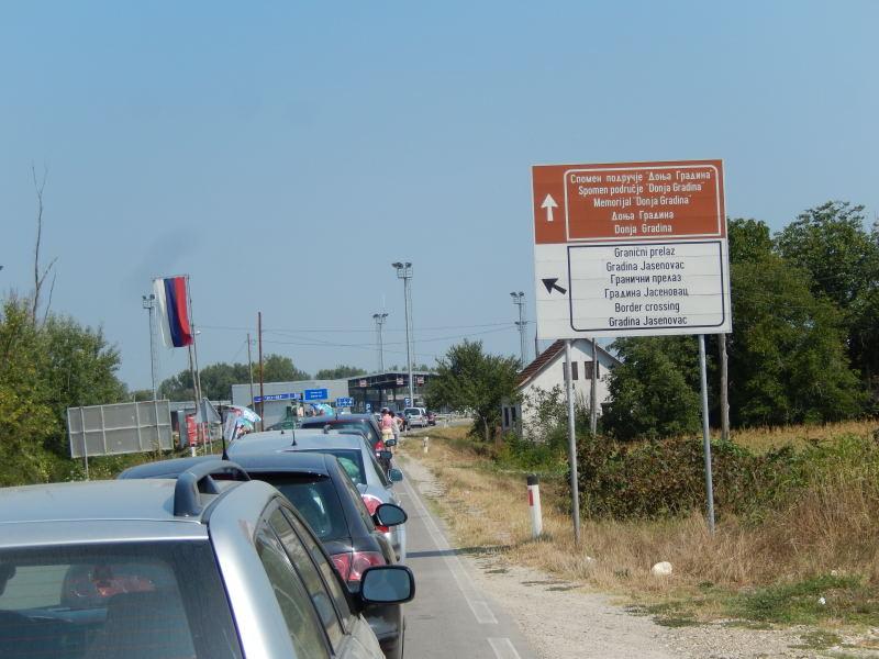 Grenze Bosnien nach Kroatien
