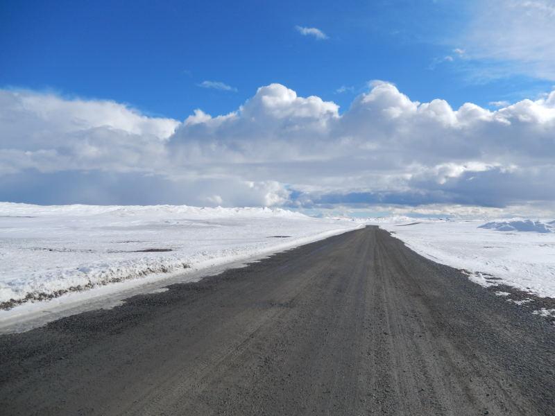 höchstgelegene Straße in Schweden