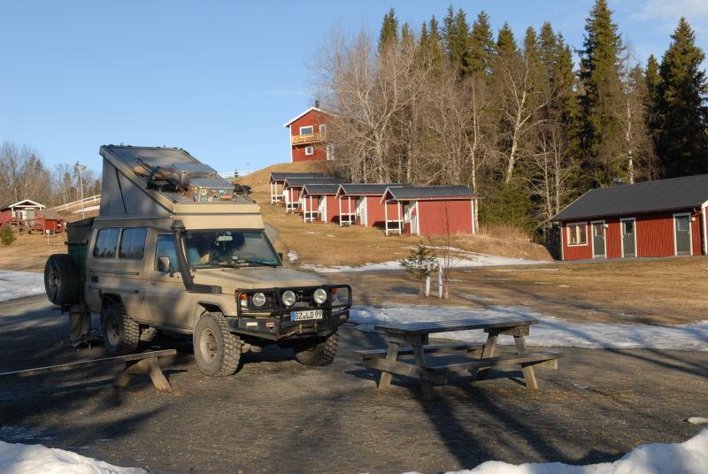 Campingplatz in Järpen