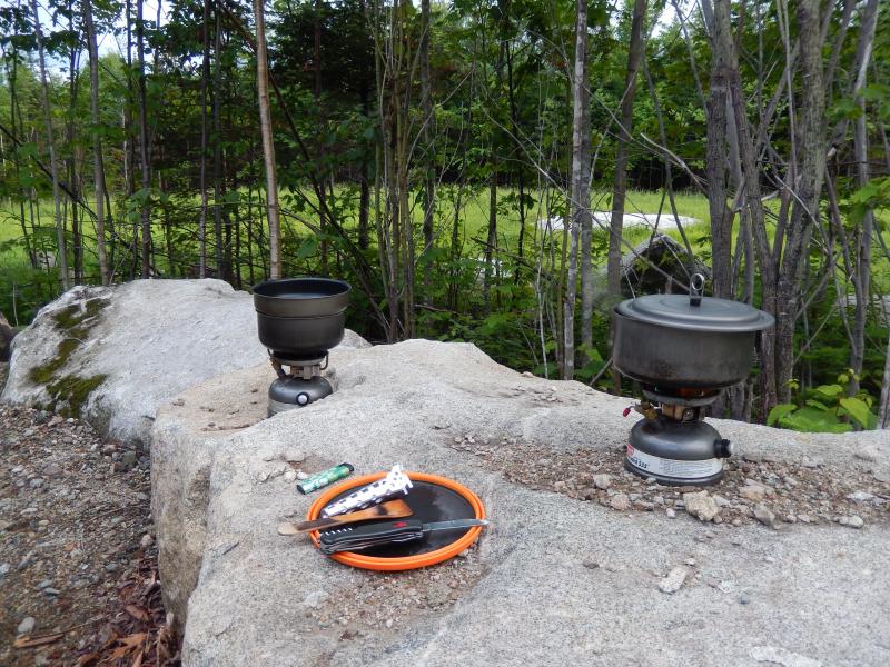 kochen mit zwei Flammen