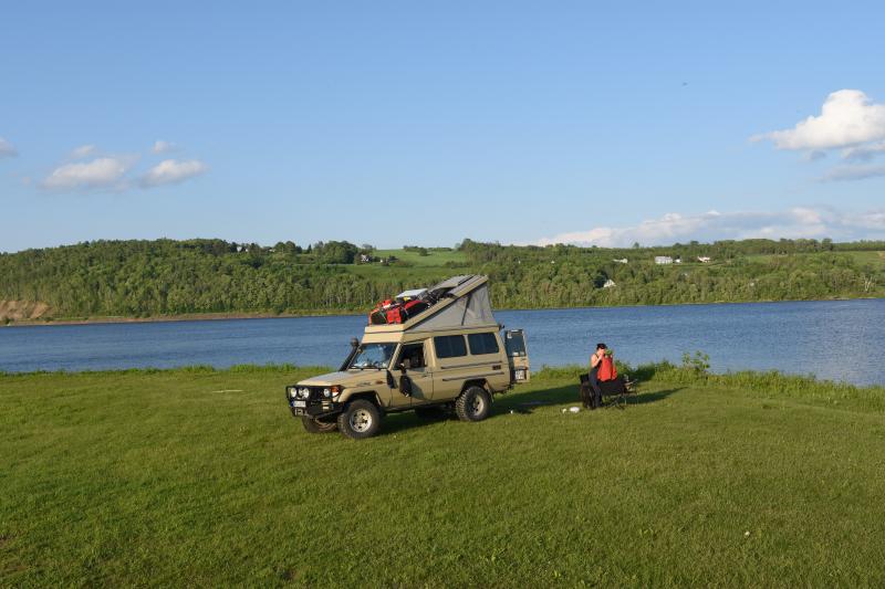 Campingplatz in Woodstock/Kanada