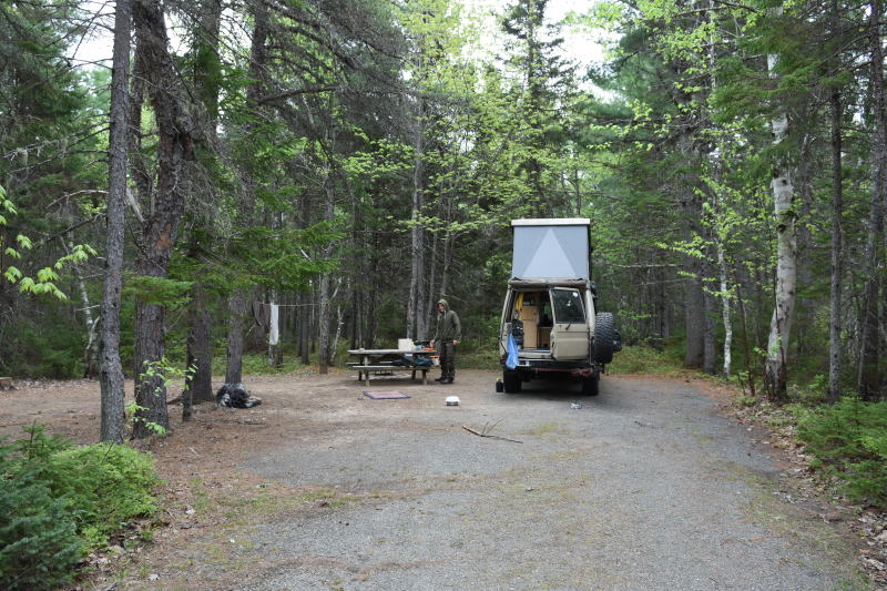 Campingplatz im Kouchibouguac NP