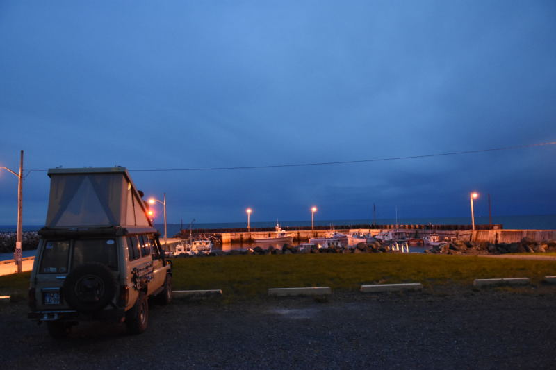 Übernachtung im Fischerhafen