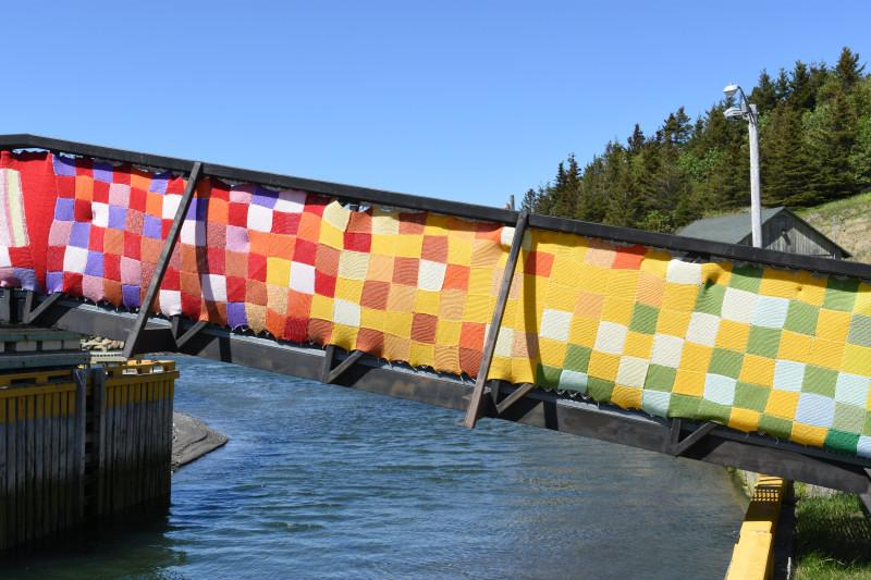 Laternenpfähle oder auch Brücken