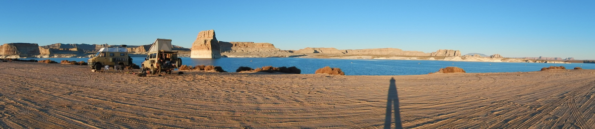 am Lake Powell