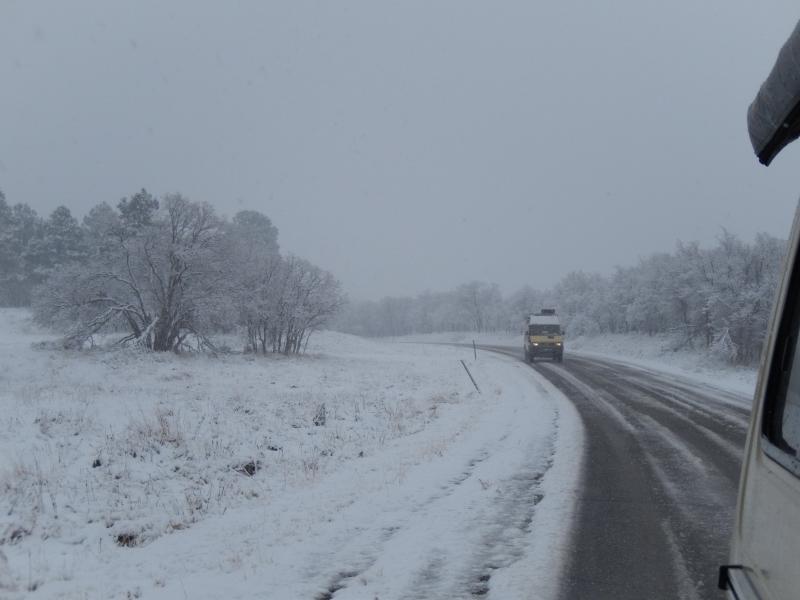 und dann im tiefsten Winter