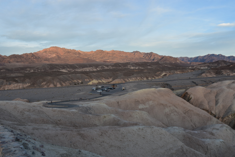 am Zabriskie Point