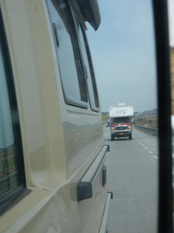 auf der Fahrt bis Puebla