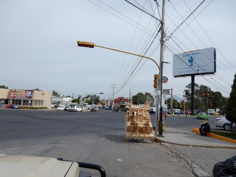 Möbelhändler auf der Kreuzung