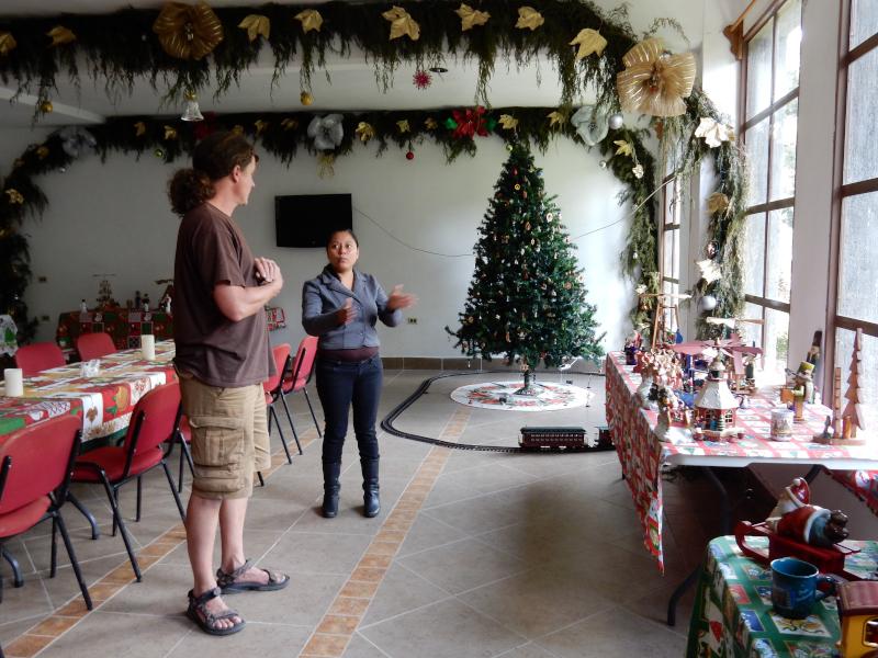 Weihnachtszimmer im Hotel