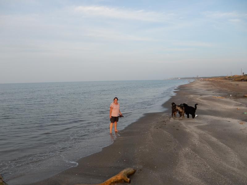 am Golf von Mexiko angekommen