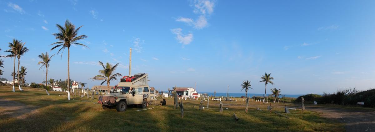 Campingplatz am Meer
