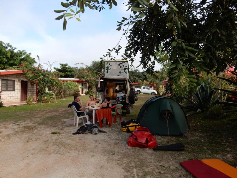 an der Cenote Suytun