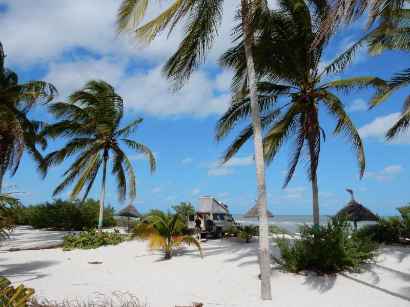 im Norden von Yucatan