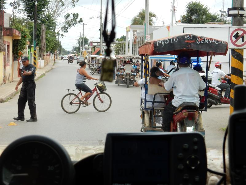 Straßenalltag