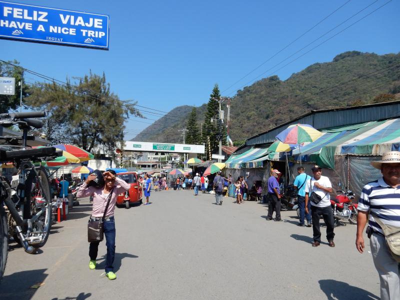 Grenze nach Guatemala