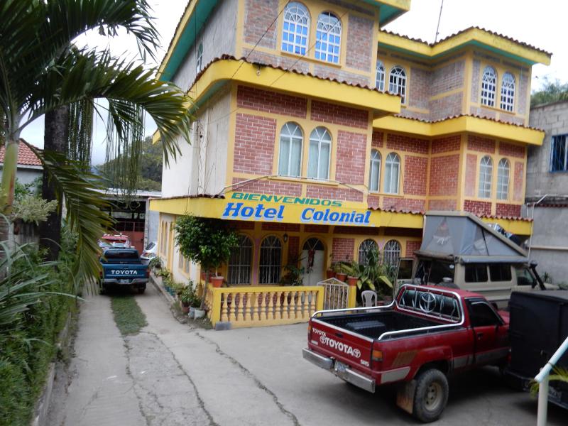 Übernachtung in Guatemala