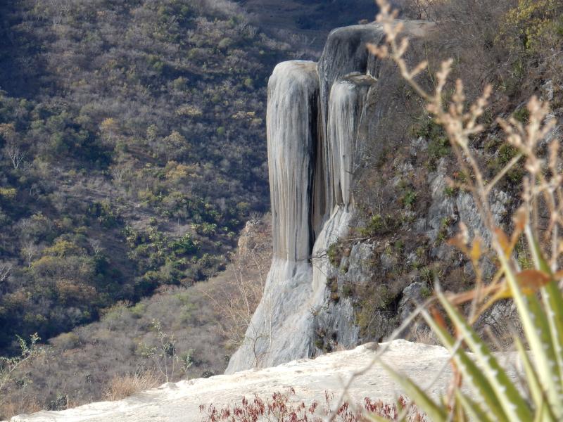 versteinerter Wasserfall