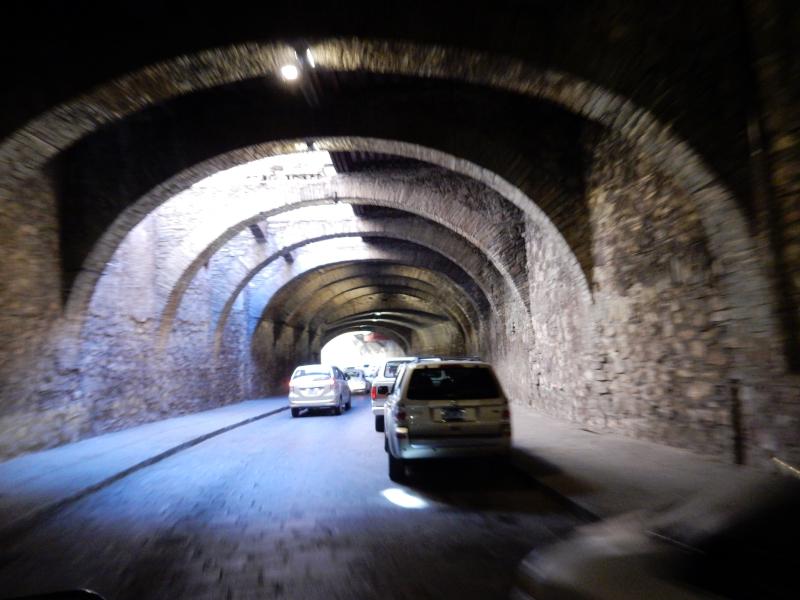 ein Tunnelwirrwarr