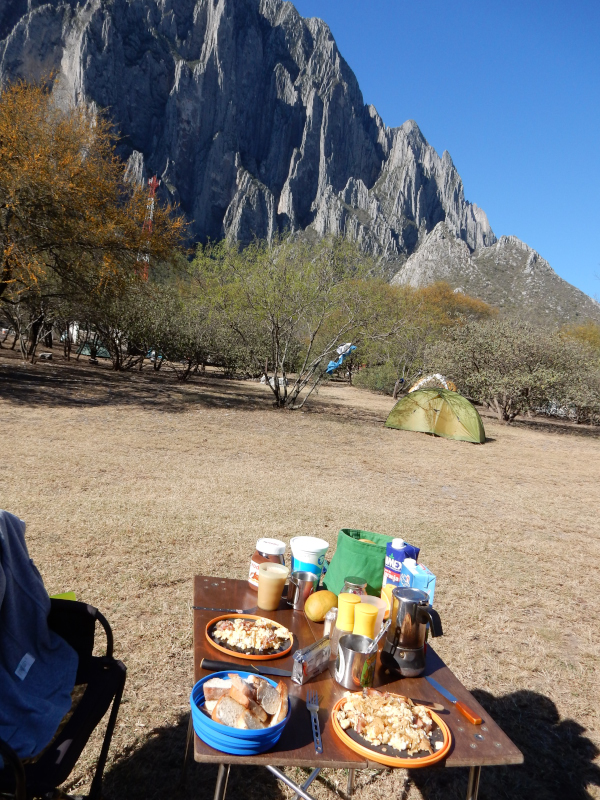 letzter Camping in Mexiko