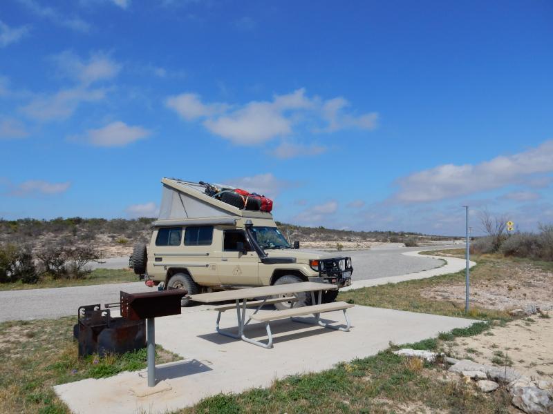 Camping im Seminole SP
