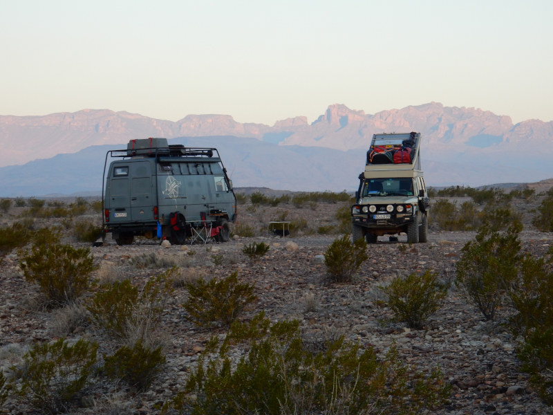 primitiv Camping La Clocha