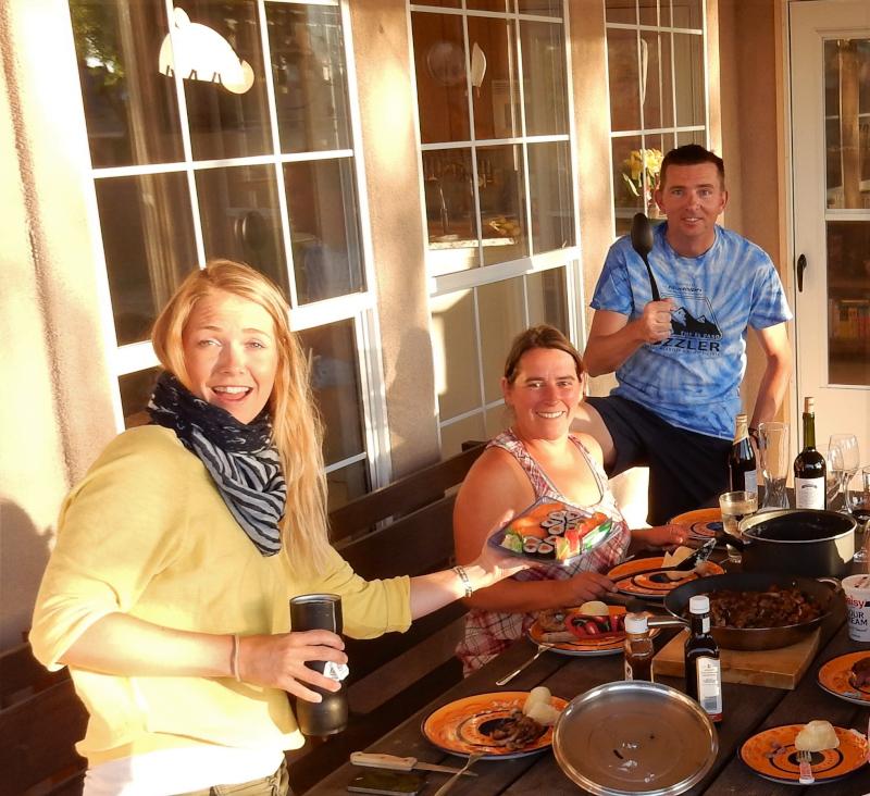 gemeinsames kochen und essen