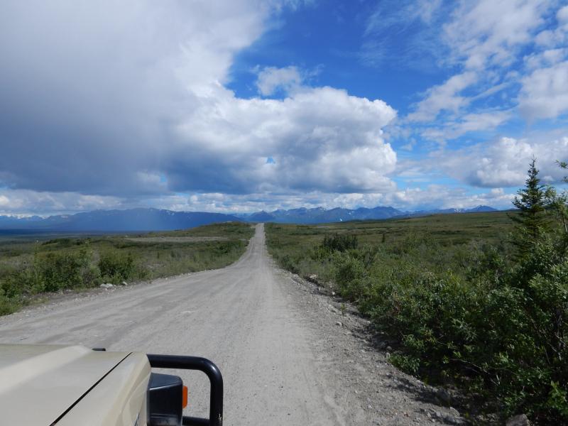 217 km Denali Highway