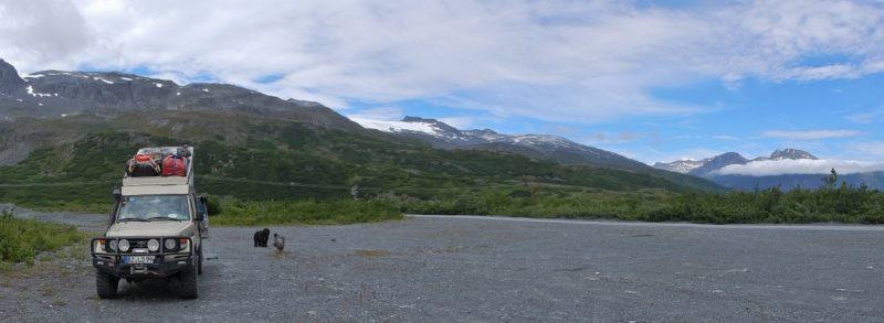 Übernachtung mit Gletscherblick