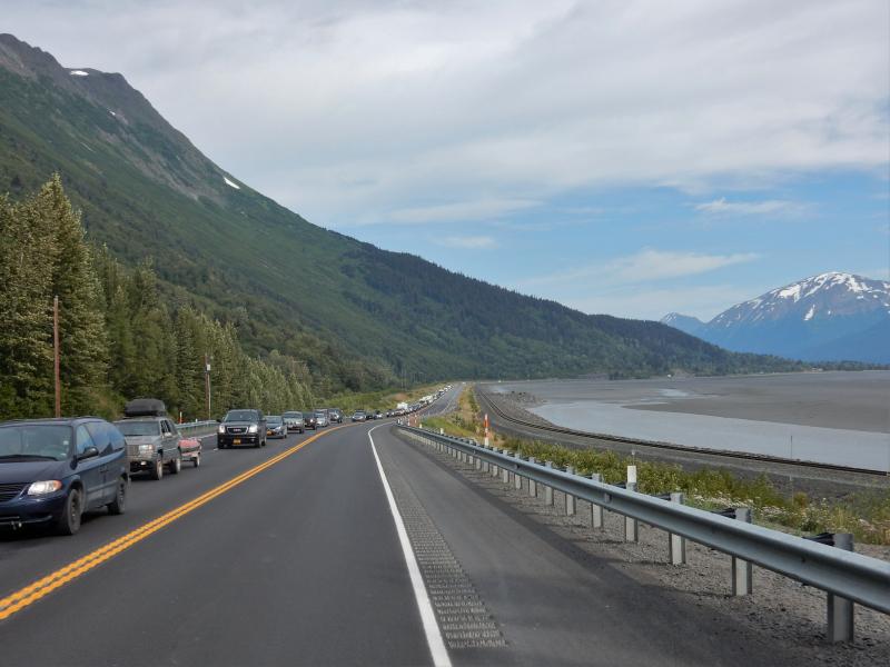 Wochenendler zurück nach Anchorage