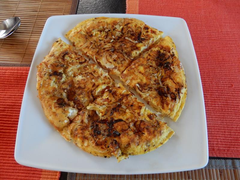 2. griechisches Omelett
