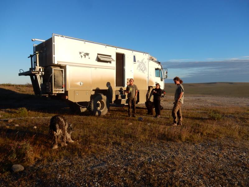 Übernachtung in der Tundra