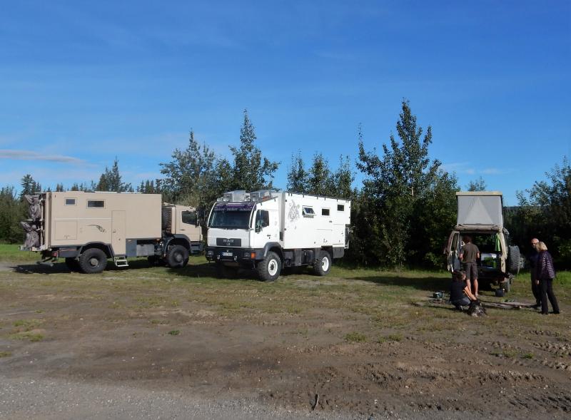 zurück in Fairbanks