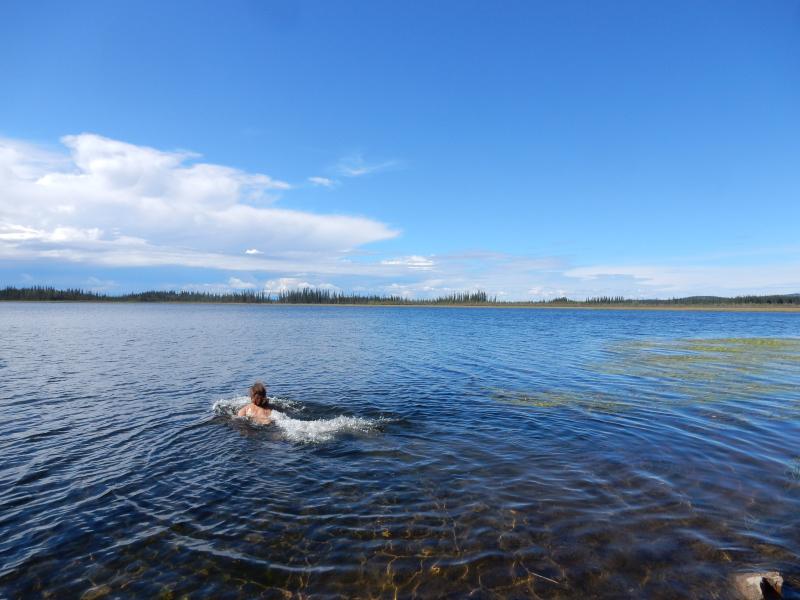 mal wieder schwimmen