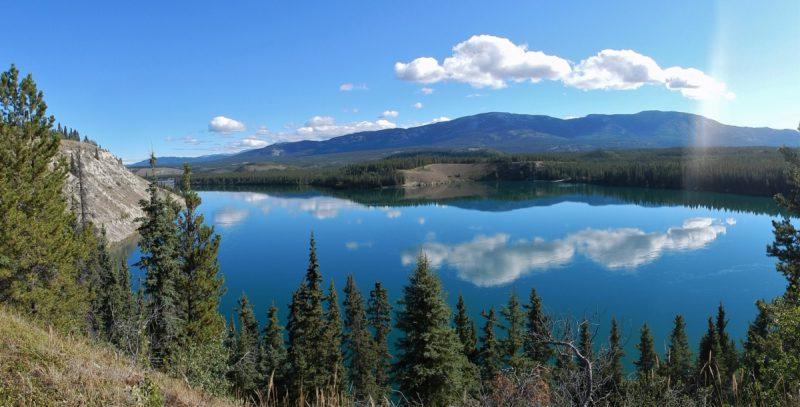 nochmal Übernachtung am Yukon River