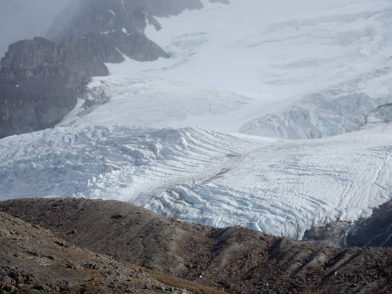 am Athabasca Gletscher