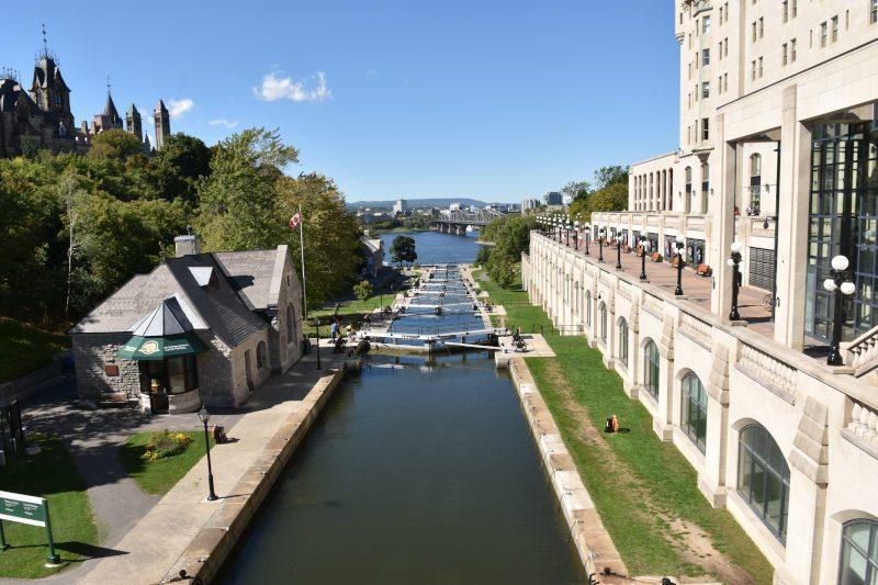 die älteste ununterbrochen benutzte künstliche Wasserstraße in Nordamerika