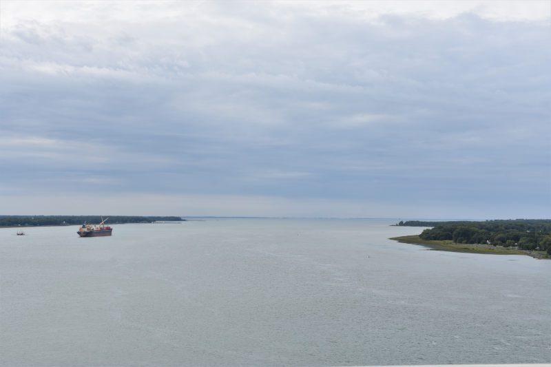 der drittgrößte Fluss in Nordamerika